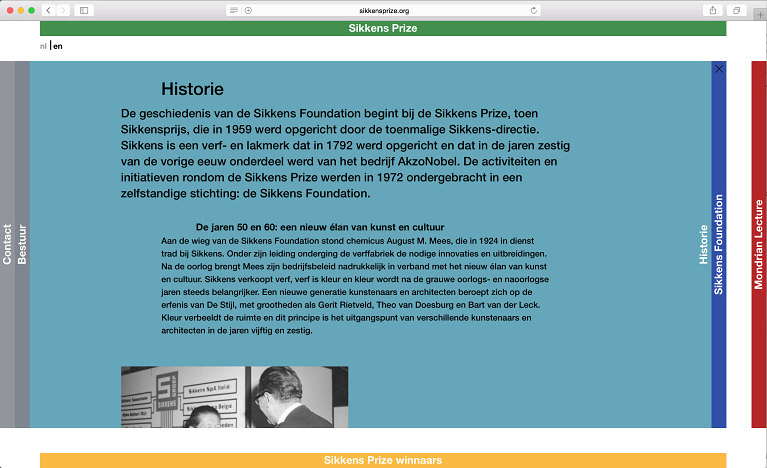 sikkensprize-historie